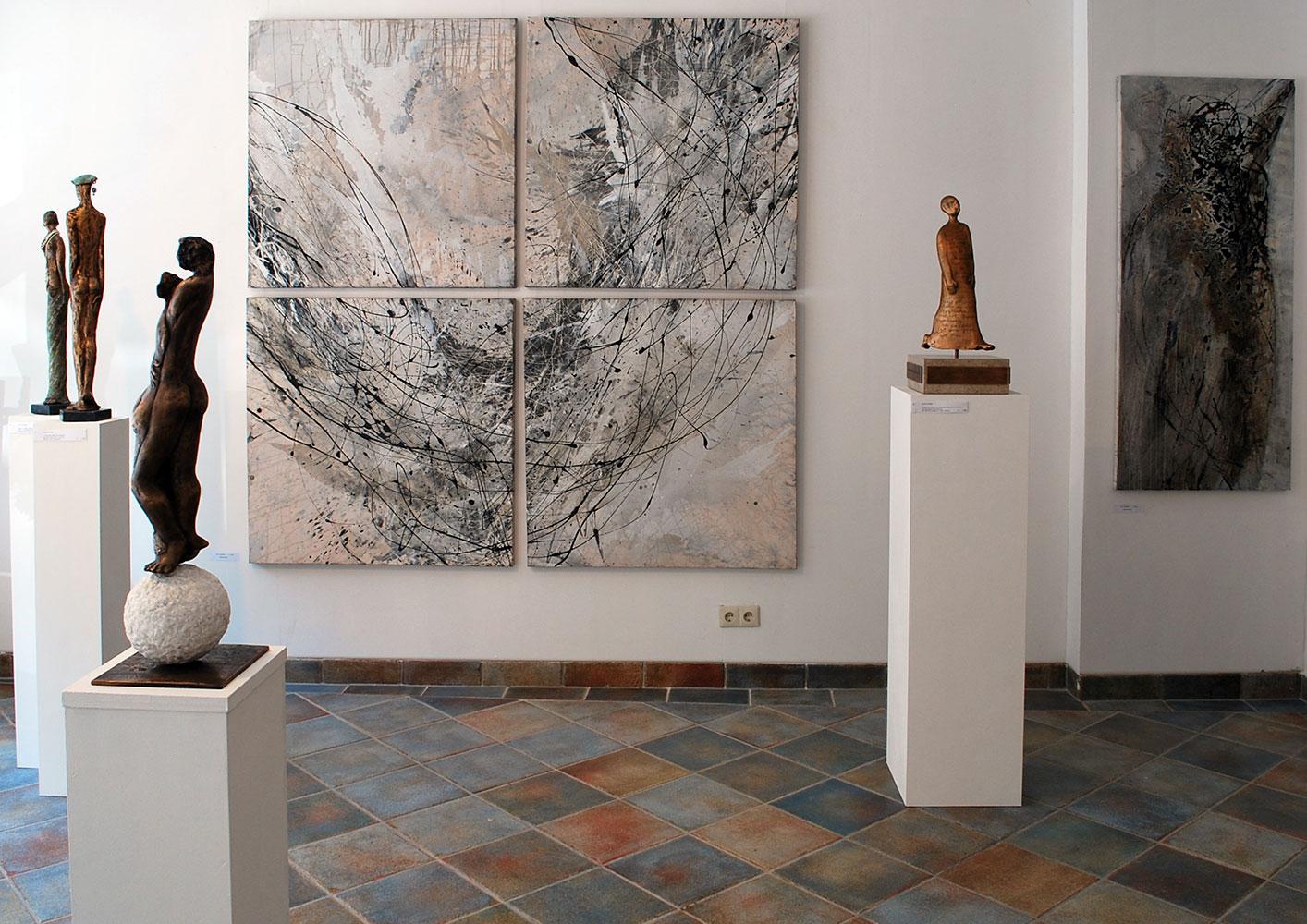 Barbara Goertz - Ausstellung Kunstgiesserei München
