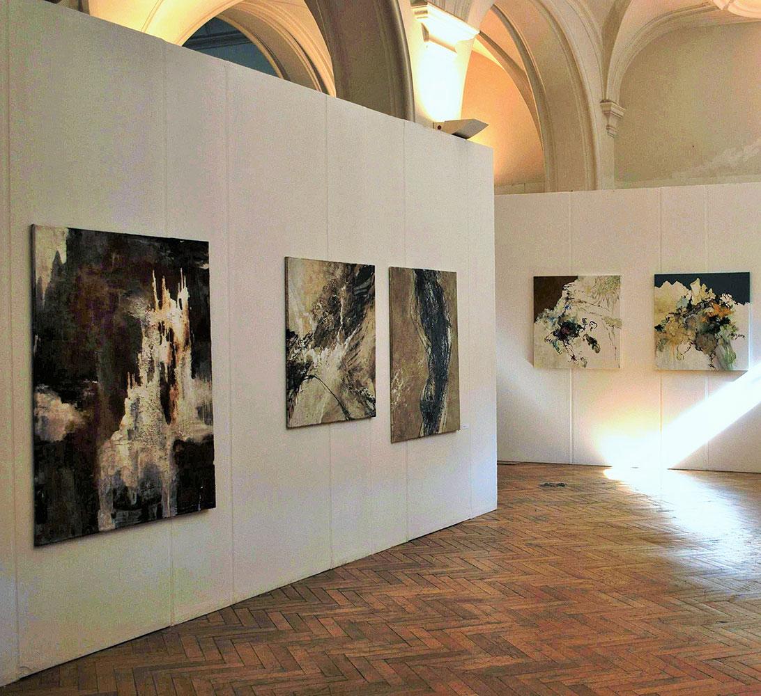Barbara Goertz - Ausstellung Rathausgalerie München